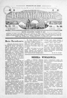 Tygodnik Polski : Bulletin de la Mission Catholique Polonaise : jedyne czasopismo polskie w Azji. 1928, R. 7, nr 298-302 (styczeń)