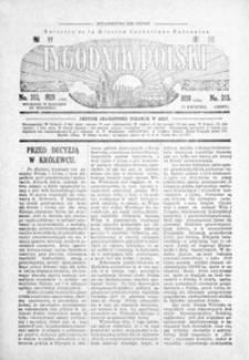 Tygodnik Polski : Bulletin de la Mission Catholique Polonaise : jedyne czasopismo polskie w Azji. 1928, R. 7, nr 312-315 (kwiecień)