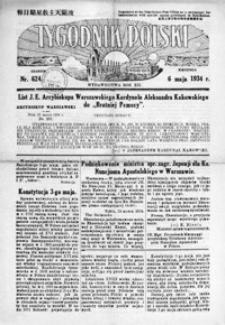 Tygodnik Polski. 1934, R. 12/13, nr 624-626 (maj)
