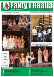 Fakty i Realia : gazeta żołyńska. 2008, nr 1 (styczeń)