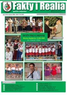 Fakty i Realia : gazeta żołyńska. 2008, nr 8 (sierpień)