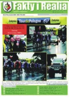 Fakty i Realia : gazeta żołyńska. 2008, nr 9 (wrzesień)