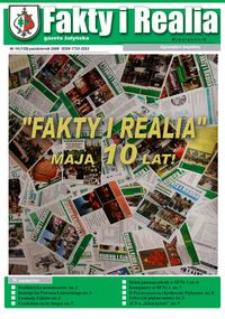 Fakty i Realia : gazeta żołyńska. 2008, nr 10 (październik)