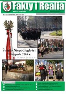 Fakty i Realia : gazeta żołyńska. 2008, nr 11 (listopad)