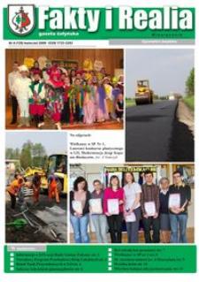 Fakty i Realia : gazeta żołyńska. 2009, nr 4 (kwiecień)
