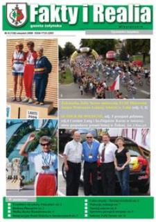 Fakty i Realia : gazeta żołyńska. 2009, nr 8 (sierpień)