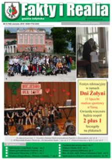 Fakty i Realia : gazeta żołyńska. 2010, nr 6 (czerwiec)