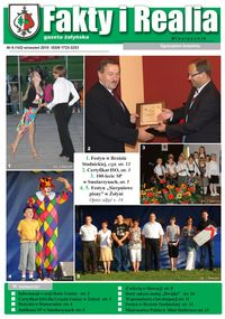Fakty i Realia : gazeta żołyńska. 2010, nr 9 (wrzesień)