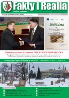 Fakty i Realia : gazeta żołyńska. 2012, nr 1 (styczeń)