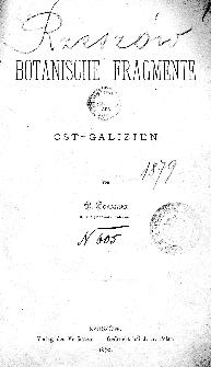 Sprawozdanie Dyrekcyi C. K. Gimnazyum w Rzeszowie za rok 1879