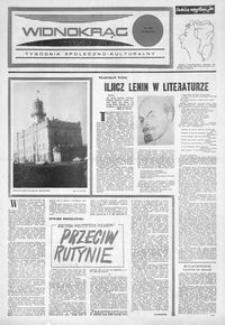 Widnokrąg : tygodnik społeczno-kulturalny. 1974, nr 7 (15 lutego)