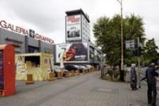 Galeria Graffica - widok z roku ulic Jagiellońskiej i al. Lisa Kuli [Fotografia]