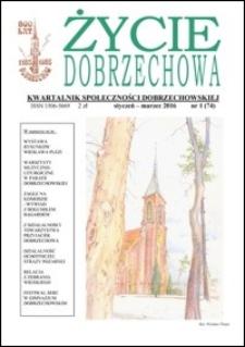 Życie Dobrzechowa : kwartalnik społeczności dobrzechowskiej. 2016, nr 1 (styczeń-marzec)