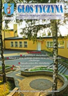 Głos Tyczyna : pismo samorządu terytorialnego. 2016, nr 9 (wrzesień/październik)
