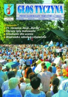 Głos Tyczyna : pismo samorządu terytorialnego. 2015, nr 8 (sierpień/wrzesień)