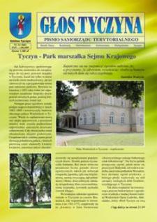 Głos Tyczyna : pismo samorządu terytorialnego. 2009, nr 14 (lipiec/sierpień)