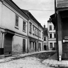 [Widok ulic Słowackiego i Matejki od strony ratusza] [Fotografia]