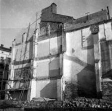 [Miejsce po wyburzonej kamienicy u zbiegu ulic Grunwaldzkiej i Sobieskiego] [Fotografia]