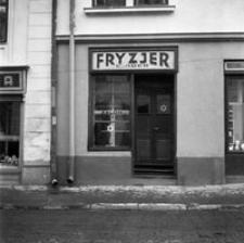 Ul Grunwaldzka żydowski Salon Fryzjerski W Kamienicy Nr 20