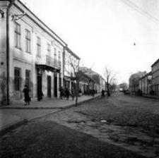 [Skrzyżowanie ulic Piłsudskiego (dawna ul. Lwowska) i Głowackiego] [Fotografia]