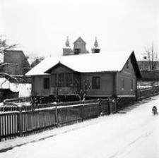 """[Dom """"Amstera"""" u zbiegu ulic Słowackiego i Grodzisko] [Fotografia]"""