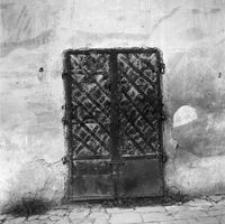 [Ul. Mickiewicza. Drzwi do sutereny w kamienicy nr 2] [Fotografia]