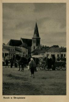 Rynek w Strzyżowie [Fotowidokówka z obiegu]