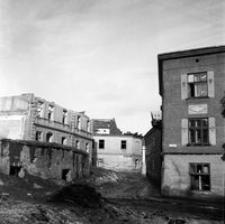 [Skrzyżowanie ulic Naruszewicza i Zamenhofa (dawna ul. Bluma)] [Fotografia]