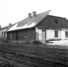 [Zabudowania przy ul. Grottgera (obecnie Dworzec Główny PKS)] [Fotografia]