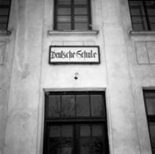 [Szkoła niemiecka przy ul. Moniuszki (obecnie budynek Uniwersytetu Rzeszowskiego)] [Fotografia]