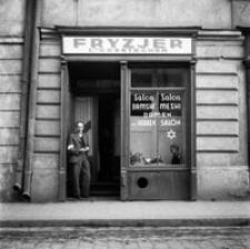 żydowski Salon Fryzjerski Fotografia Podkrapacka Digital Library