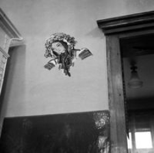 [Ul. 3 Maja. Wnętrze restauracji ukraińskiej w kamienicy nr 28] [Fotografia]