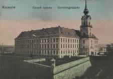 Rzeszów. Gmach sądowy = Gerichtsgebäude [Pocztówka]
