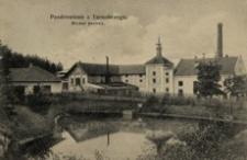 Pozdrowienie z Tarnobrzegu. Browar parowy [Fotowidokówka z obiegu]