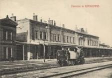 Dworzec w Rzeszowie [Pocztówka]
