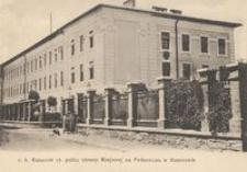 c. k. Kasarnie 17. Pułku obrony na Podzamczu w Rzeszowie [Pocztówka]