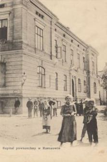Szpital powszechny w Rzeszowie [Pocztówka]