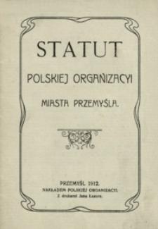Statut Polskiej Organizacji Miasta Przemyśla