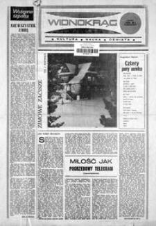 Widnokrąg : kultura, nauka, oświata. 1986, nr 1 (7 stycznia)