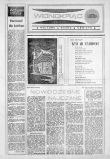 Widnokrąg : kultura, nauka, oświata. 1986, nr 4 (18 lutego)