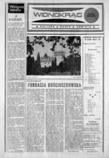 Widnokrąg : kultura, nauka, oświata. 1986, nr 13 (8 lipca)