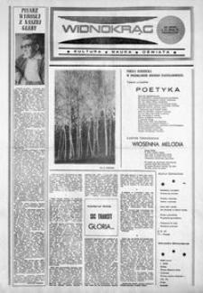 Widnokrąg : kultura, nauka, oświata. 1986, nr 22 (4 listopada)