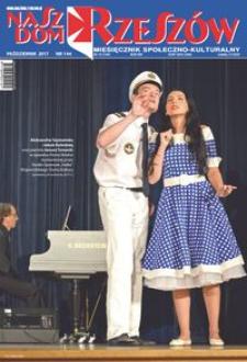 Nasz Dom Rzeszów : miesięcznik społeczno-kulturalny. 2017, R. 13, nr 10 (październik)