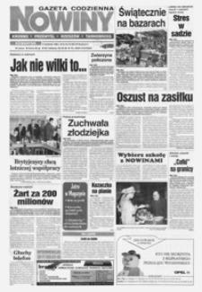 Nowiny : gazeta codzienna. 1998, nr 64-84 (kwiecień)
