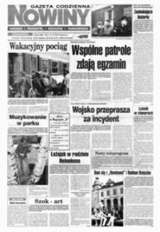 Nowiny : gazeta codzienna. 1998, nr 126-136, 138-148 (lipiec)
