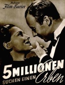 Illustrierter Film-Kurier : Fünf Millionen suchen einen Erben. [1938], nr 2789