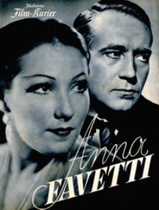 Illustrierter Film-Kurier : Anna Favetti. [1938], nr 2796