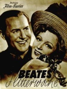 Illustrierter Film-Kurier : Beates Flitterwoche. [1940], nr 3123