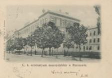 C. k. II. seminaryum nauczycielskie w Rzeszowie [Pocztówka]