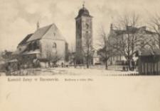 Kościół farny w Rzeszowie. Budowa z roku 1344 [Pocztówka]
